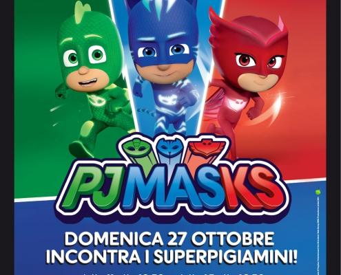 PJMASK Superpigiamini a Parcofiore San Fior Treviso